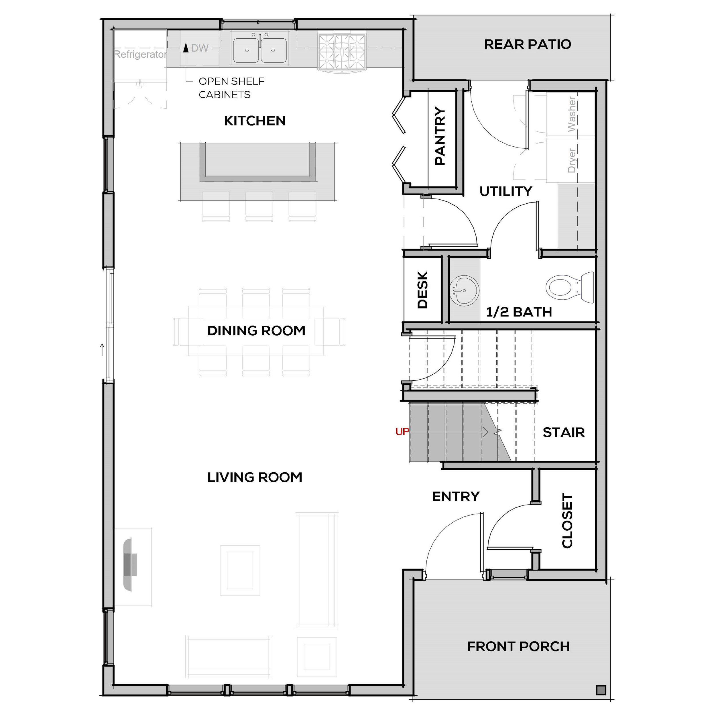 Valdez | First Floor | Floor Plan