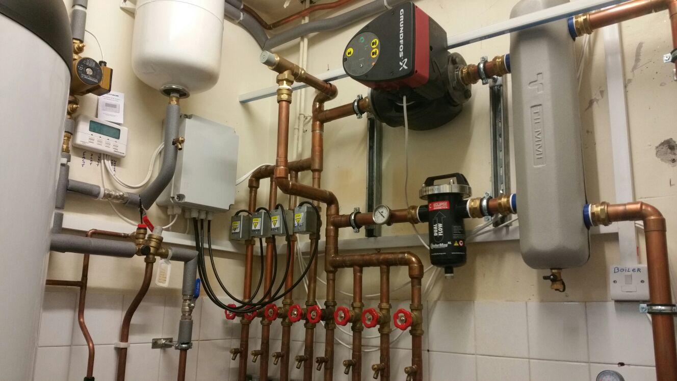 Longworth Nursing Home Blackburn Lancashire commercial condensing boiler installation
