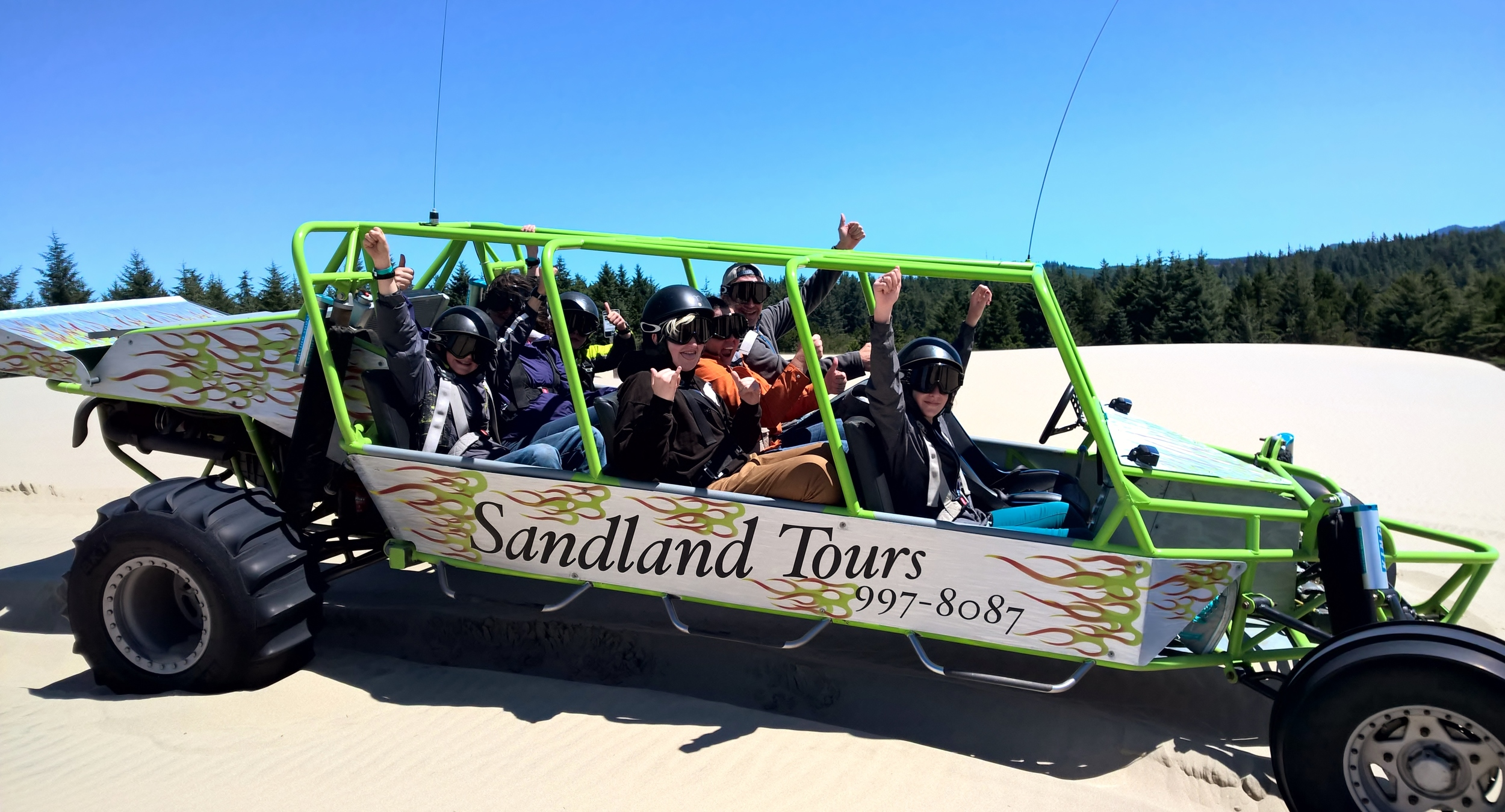 Sandland Adventures Sand Rail Tour - Florence, OR