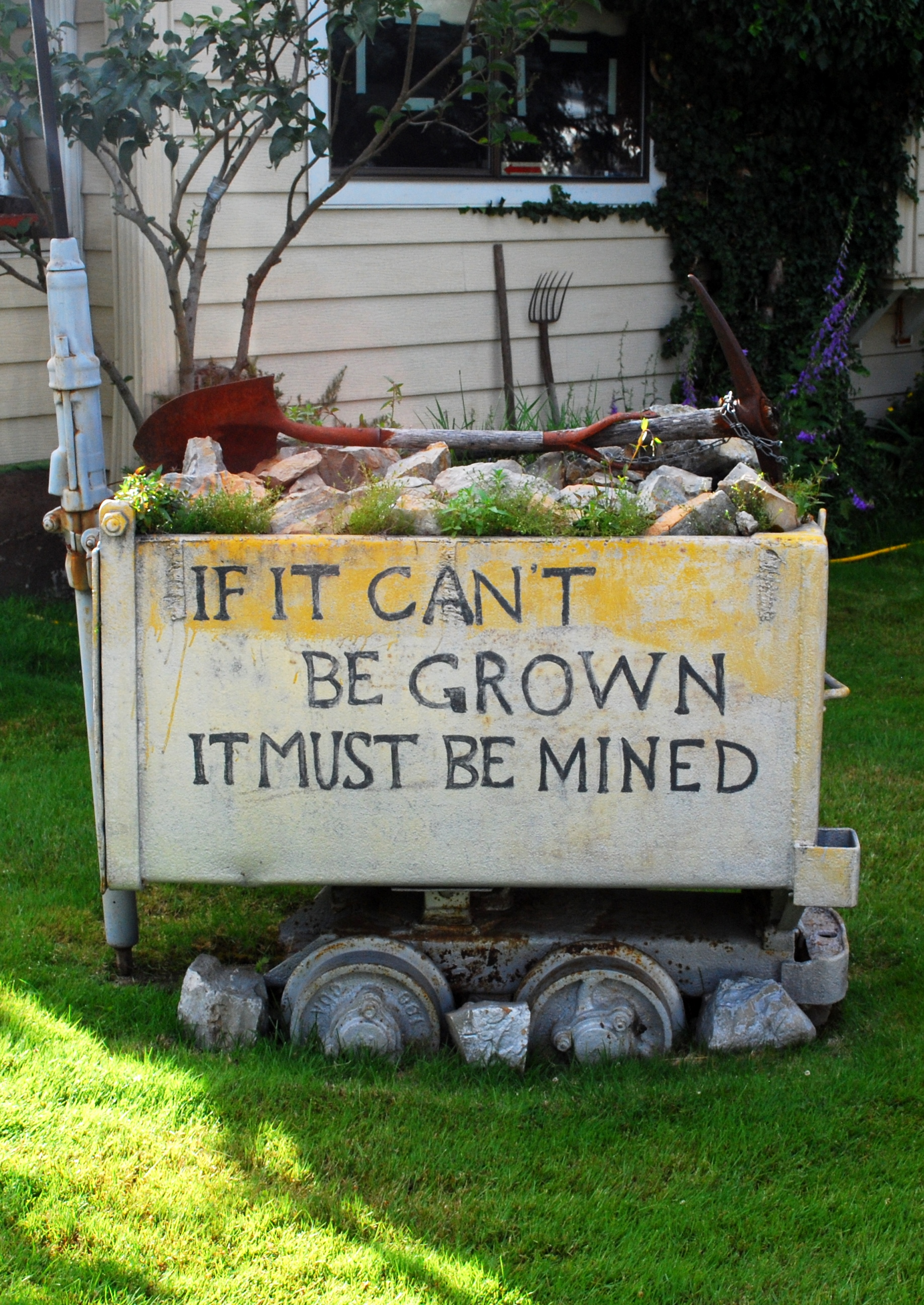It if can't be grown...