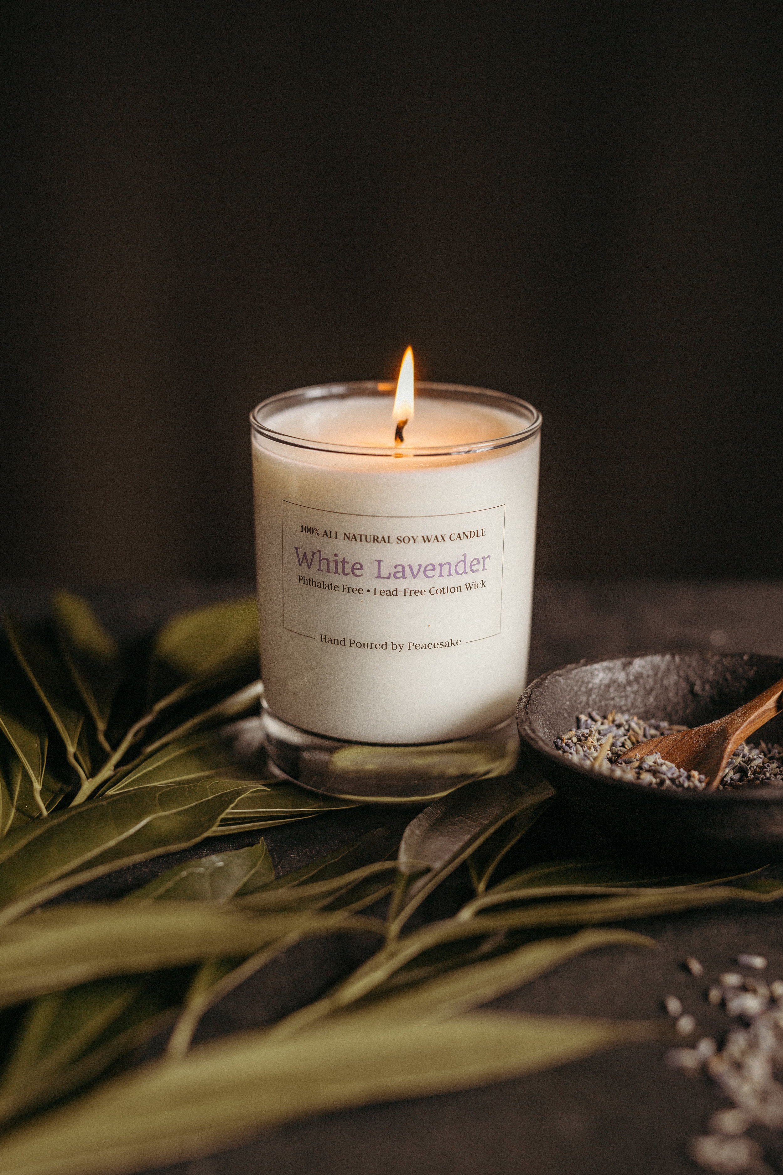 peacesake-all-natural-soy-wax-cotton-wick-vegan-candle-phthalate-free-white-birch-pine-forest-lavender