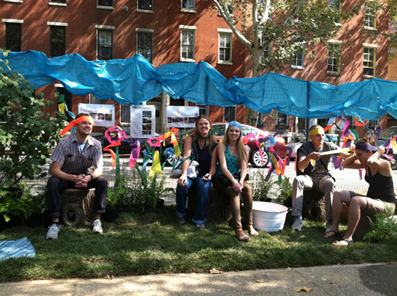 Engaging the public on the street by creating places that are fun and beautiful.