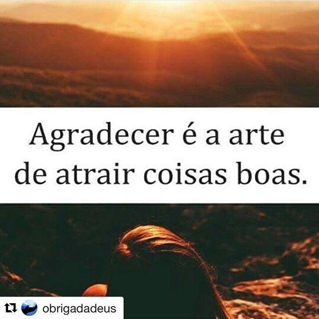 #Repost @obrigadadeus (@get_repost) ・・・ A gratidão é a memória do coração. Agradecer a Deus depois que Ele responde a uma oração, é gratidão. Agradecer a Ele antecipadamente, é fé.  Obrigada Senhor por mais um dia onde faremos o nosso melhor para lhe orgulhar 🙏🏻🙏🏻💙 #fé #alegriadeviver #gratidão #deusnocomando #amoradeus 🙏🏻🙏🏻