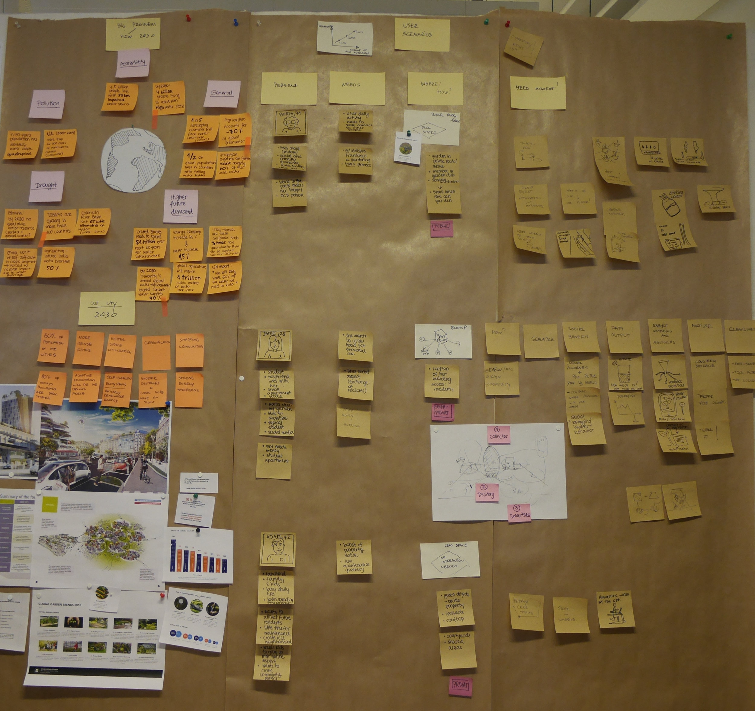 Clustering design opportunities