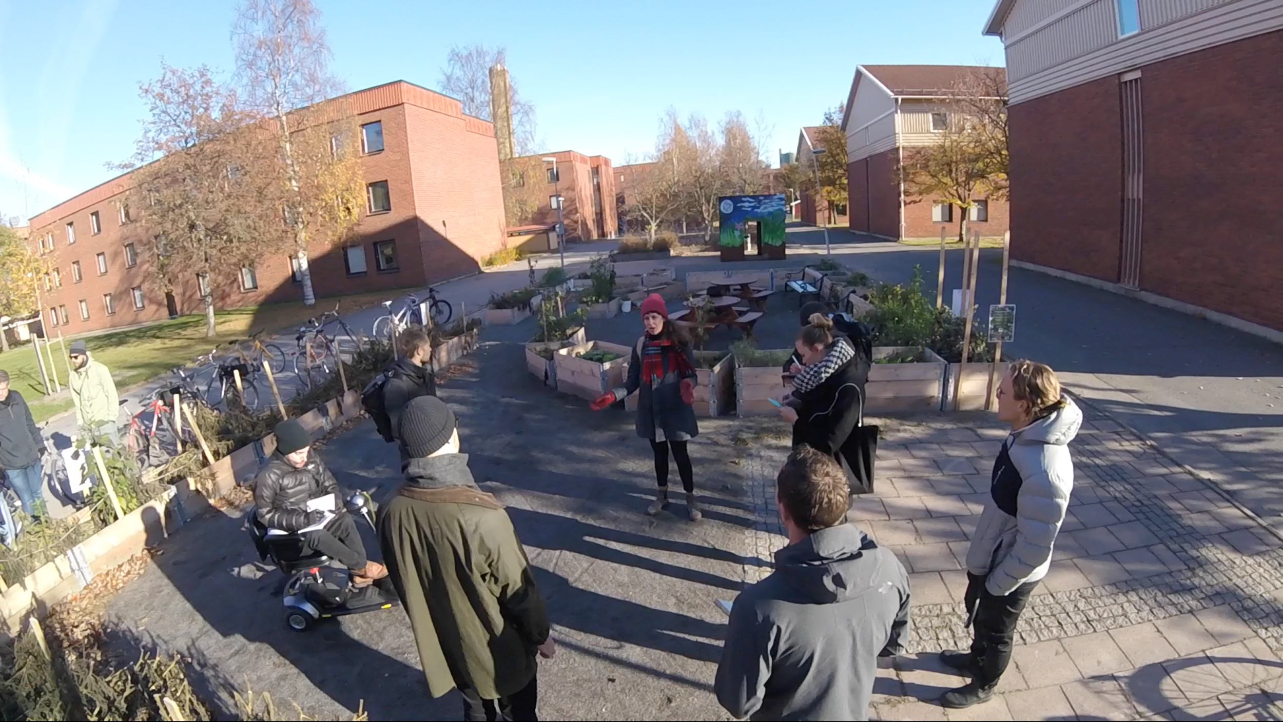 """""""We wanted to do the gardening, but there was no access to water."""" - Ålidhem Community, Umeå"""