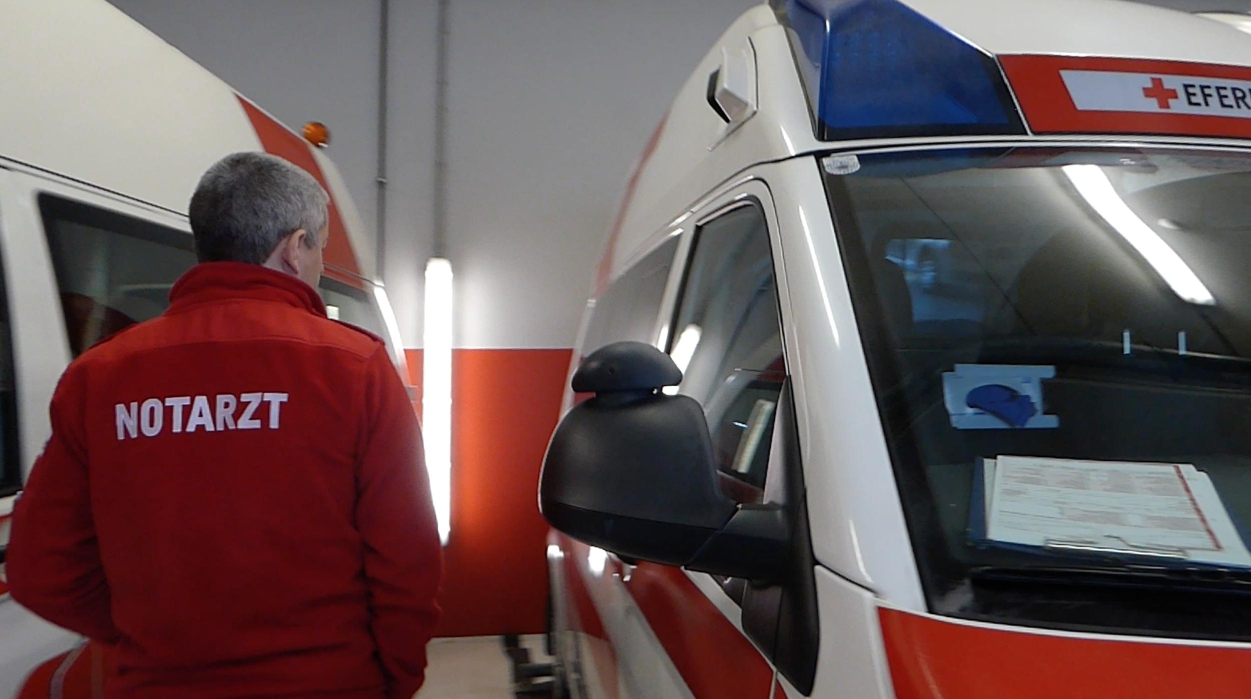 Tour with Dr. Stöbich, Eferding Ambulance,  Austria