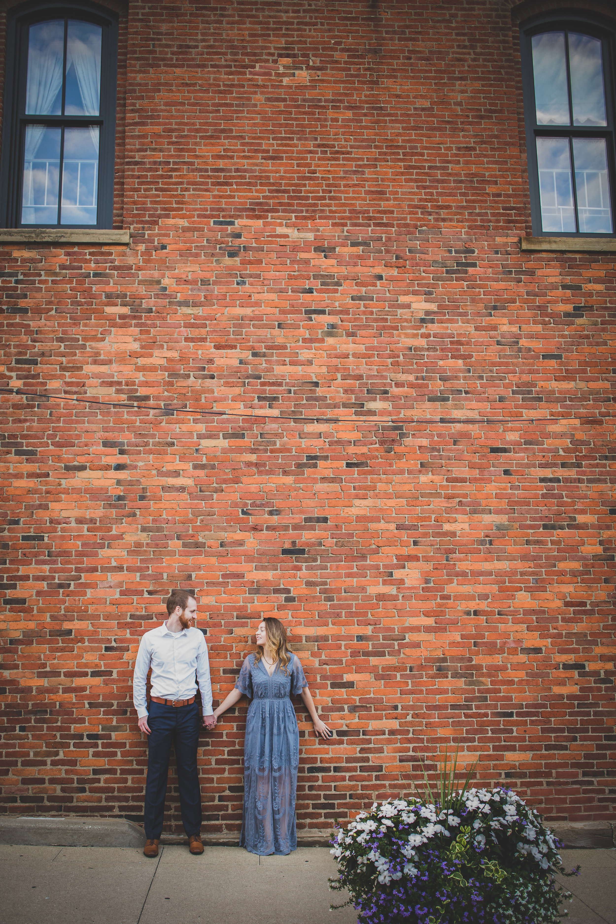 Michelle Carter Photography-Downtown Medina Engagement Session-Brianna and Josh-6.jpg