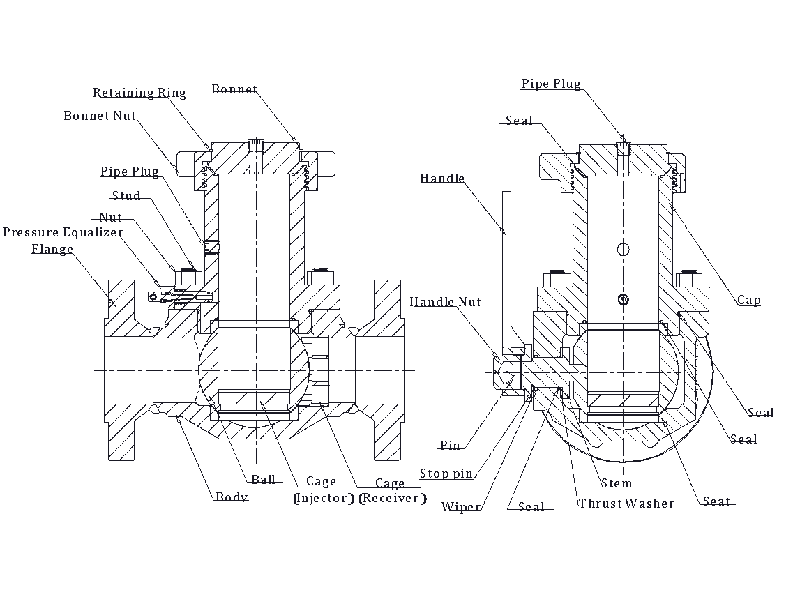 Bypass valve diagram by Frontier Valve