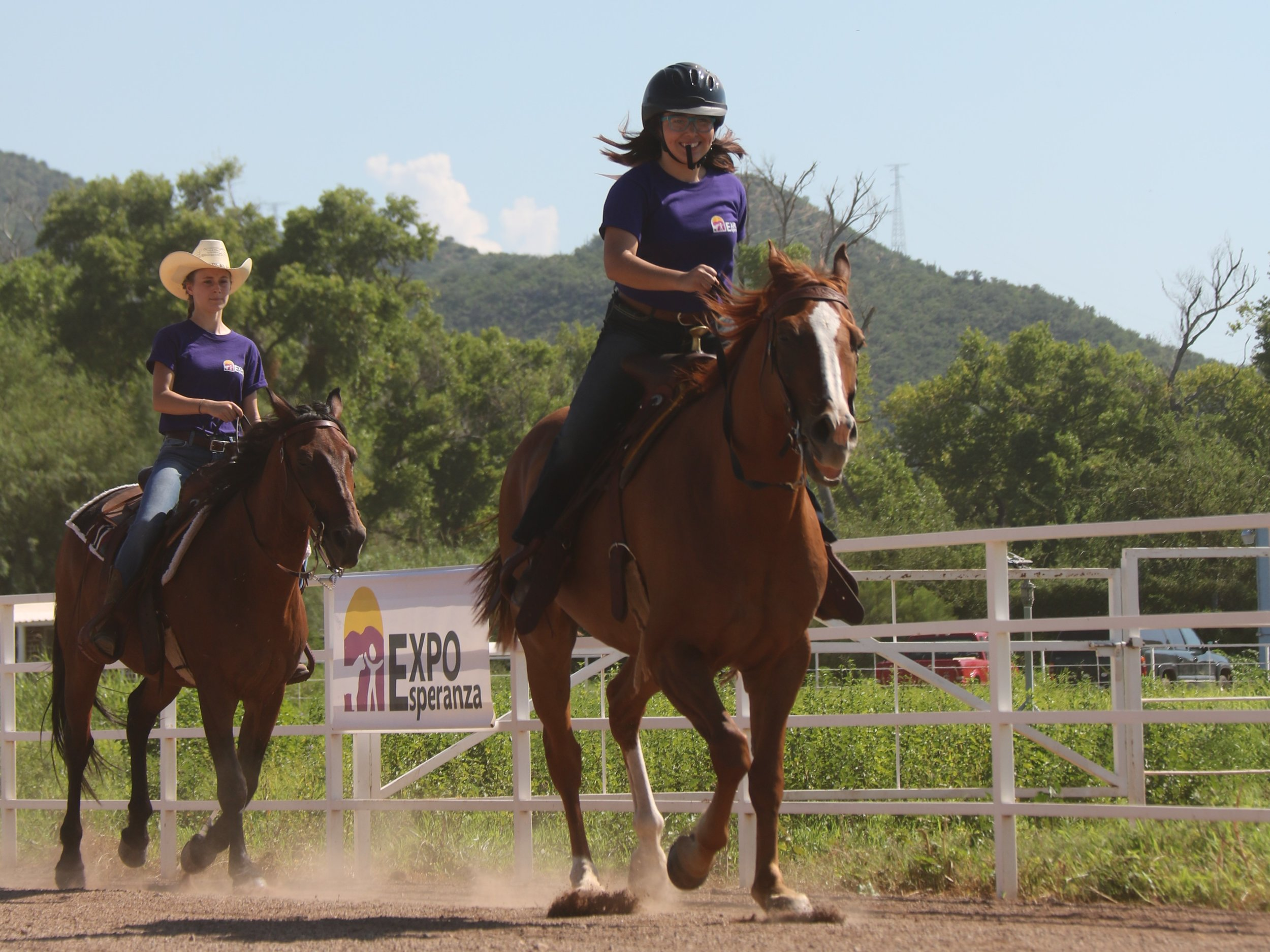 Equitation competitions are open to all age groups. Historically, horse classes have the most entries at Expo!
