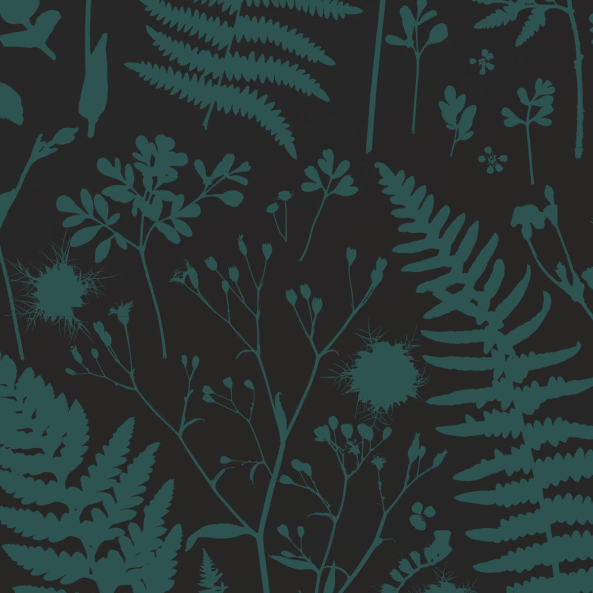 Forage –Green on Black