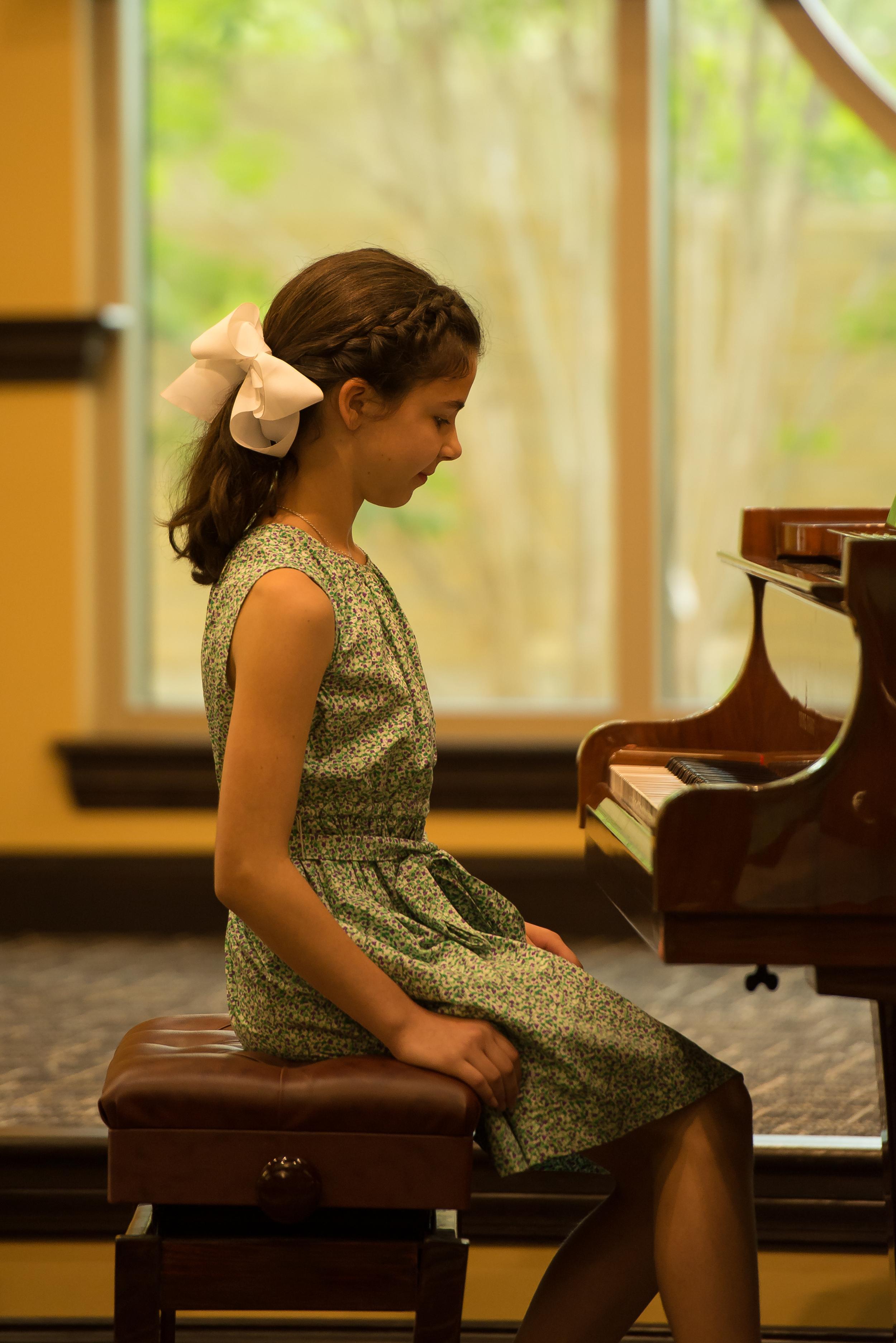 Grace Notes Music Studio Piano Student