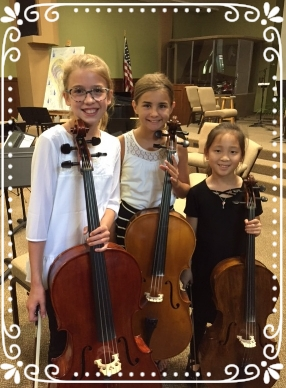 A big shout out to these string camp cuties. I pushed them hard last week and they met the challenge with grace and gusto! -