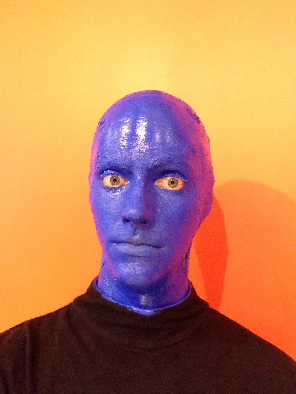 """Getting """"Blued Up"""""""