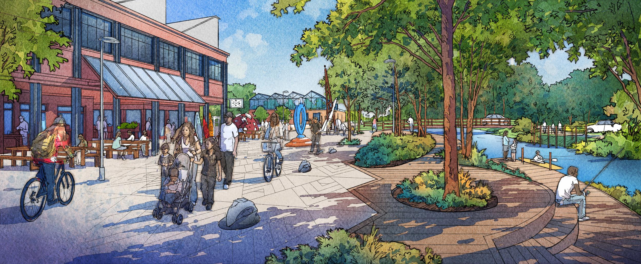 Woonasquatucket Vision Plan  | Providence, Rhode Island