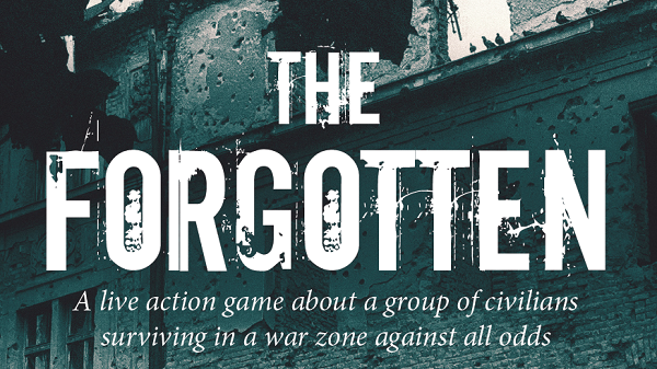 The Forgotten, a Live Action Game