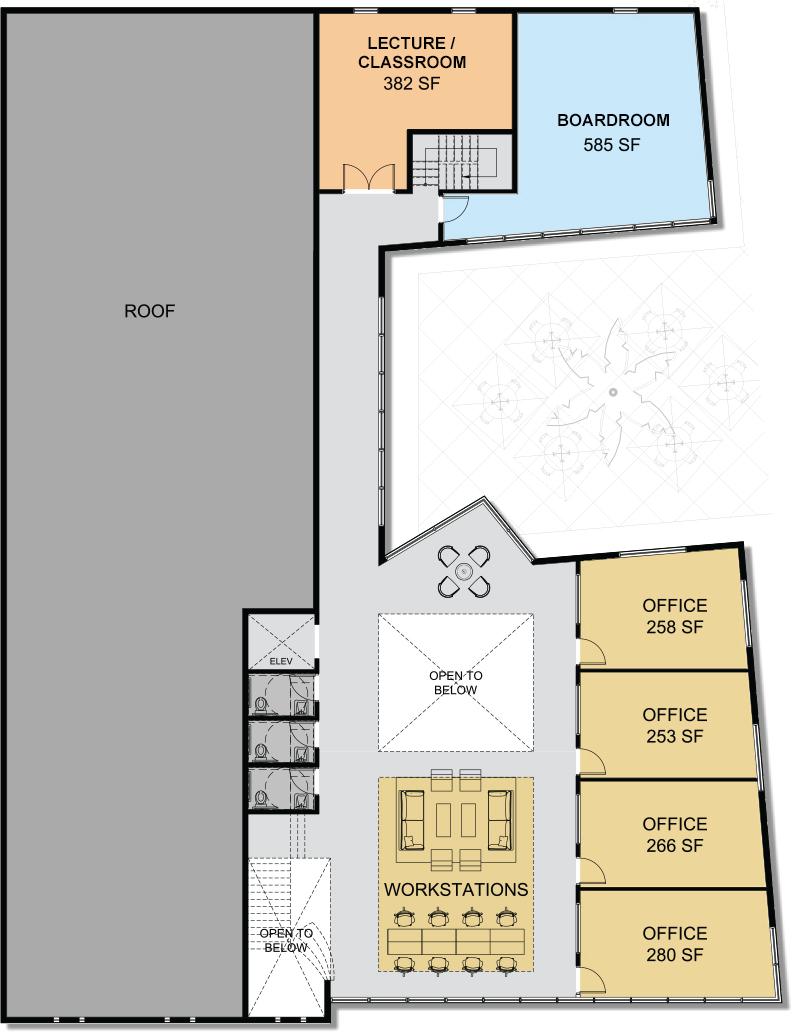 Second Floor Layout