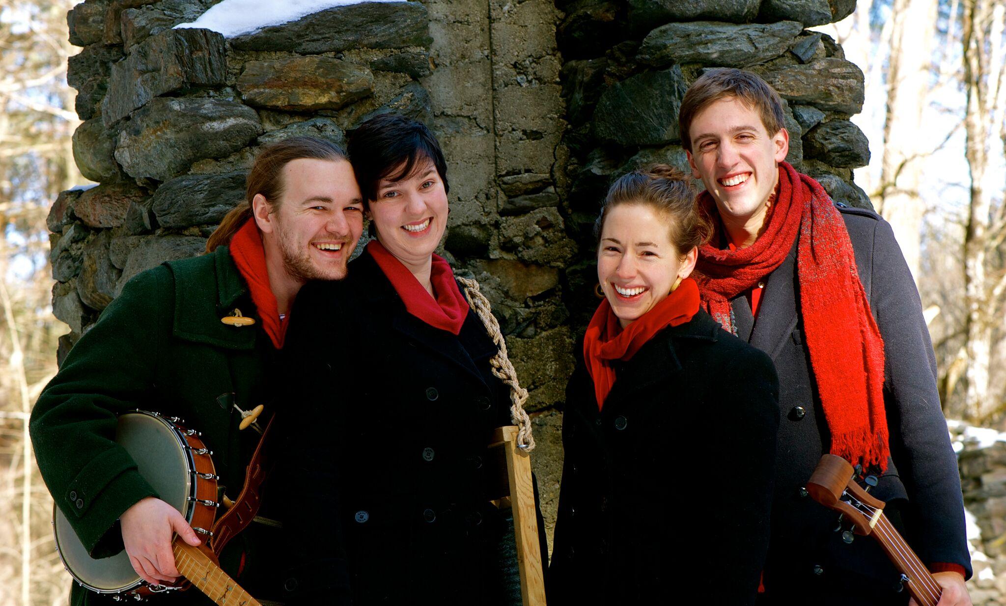 Will Thomas Rowan, Lynn Mahoney Rowan, Lauren Breunig, Jeremy Carter-Gordon