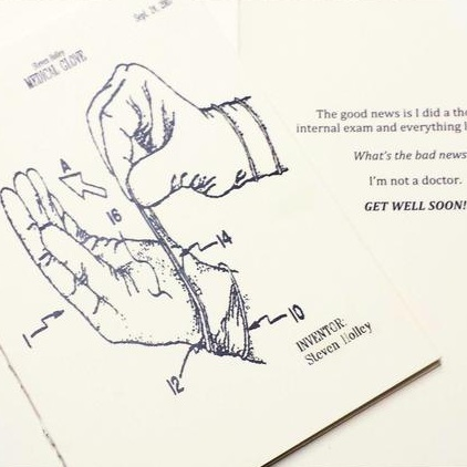 Patent Press Greeting Cards