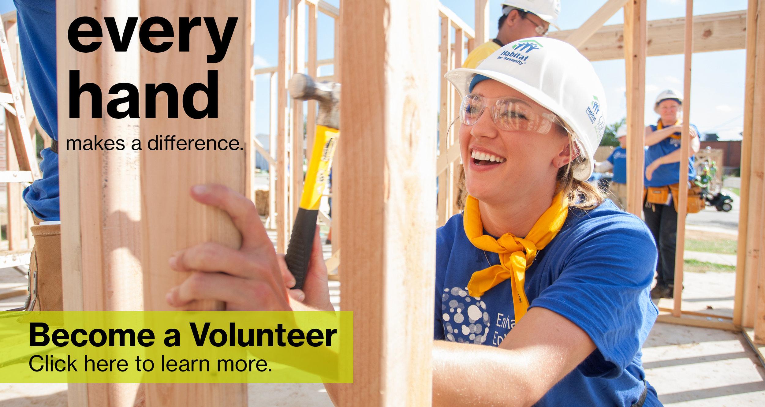 Volunteer at Habitat for Humanity
