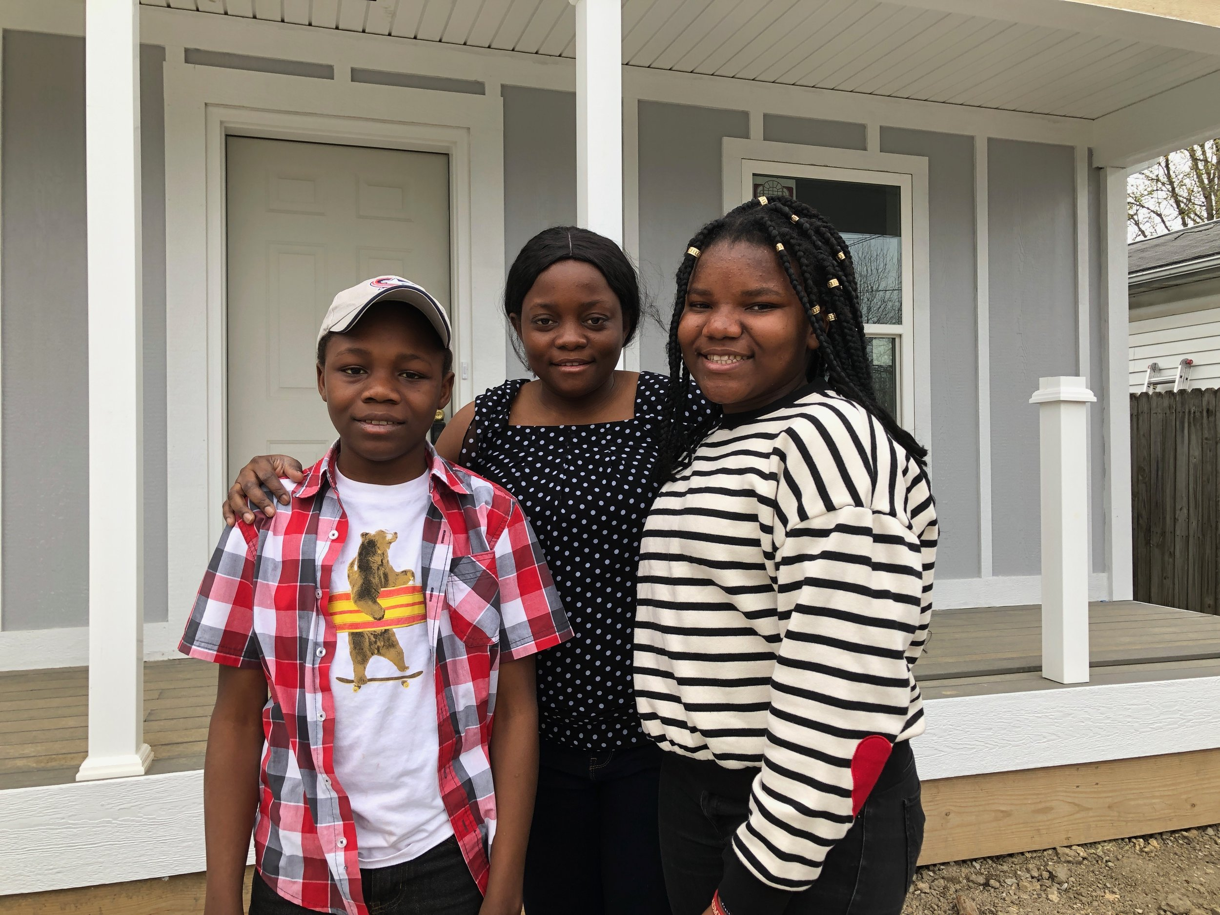 """Habitat has given me the opportunity to realize my dream of owning a safe, stable home for me and my children."" - ~Emmerencia"