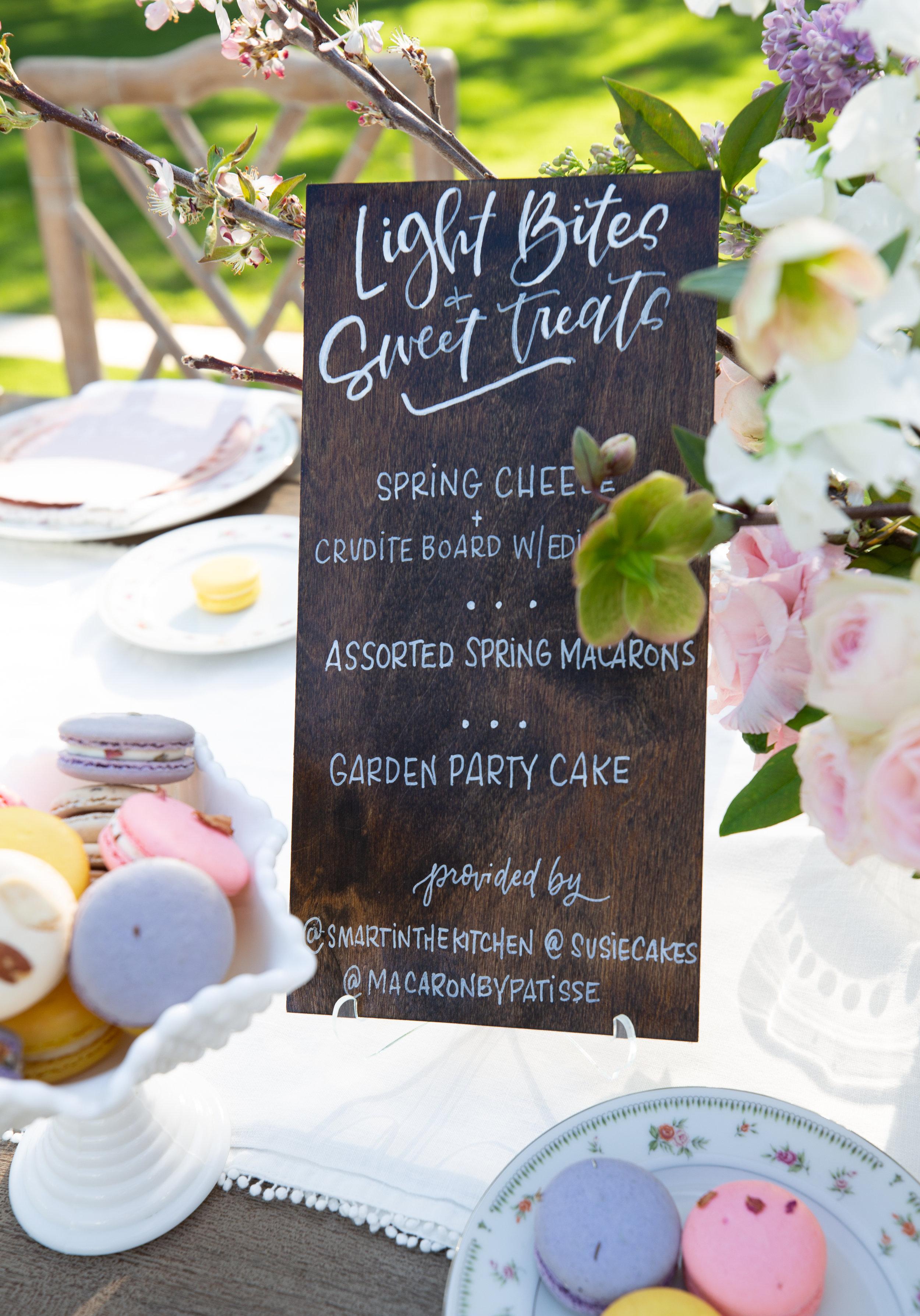 Meg Grant & Co. Garden Party Gathering