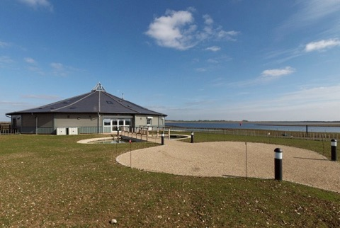 The new facility offers a great place to view the some 40,000  ducks, geese & swans that visit the reservoir every year