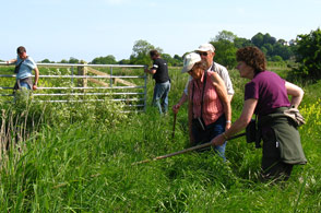 Volunteers help the British Trust For Ornithology (B.T.O.)to amass the data used to compile a nationwide survey of bird populations