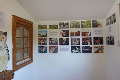 In the foyer, our photo wall illustrates some of our past successes