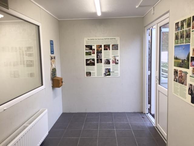 Public viewing area