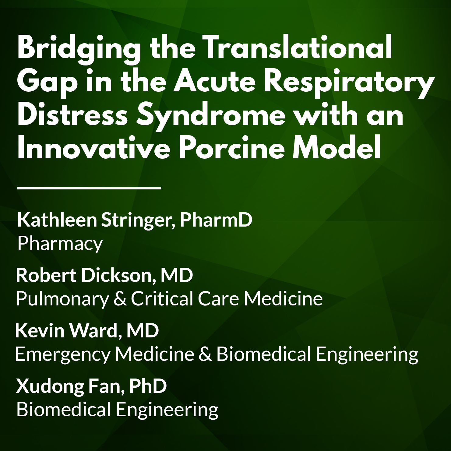 Bridging the Translational Gap in the Acute Respiratory Distress Syndrome with an Innovative Porcine Model.png