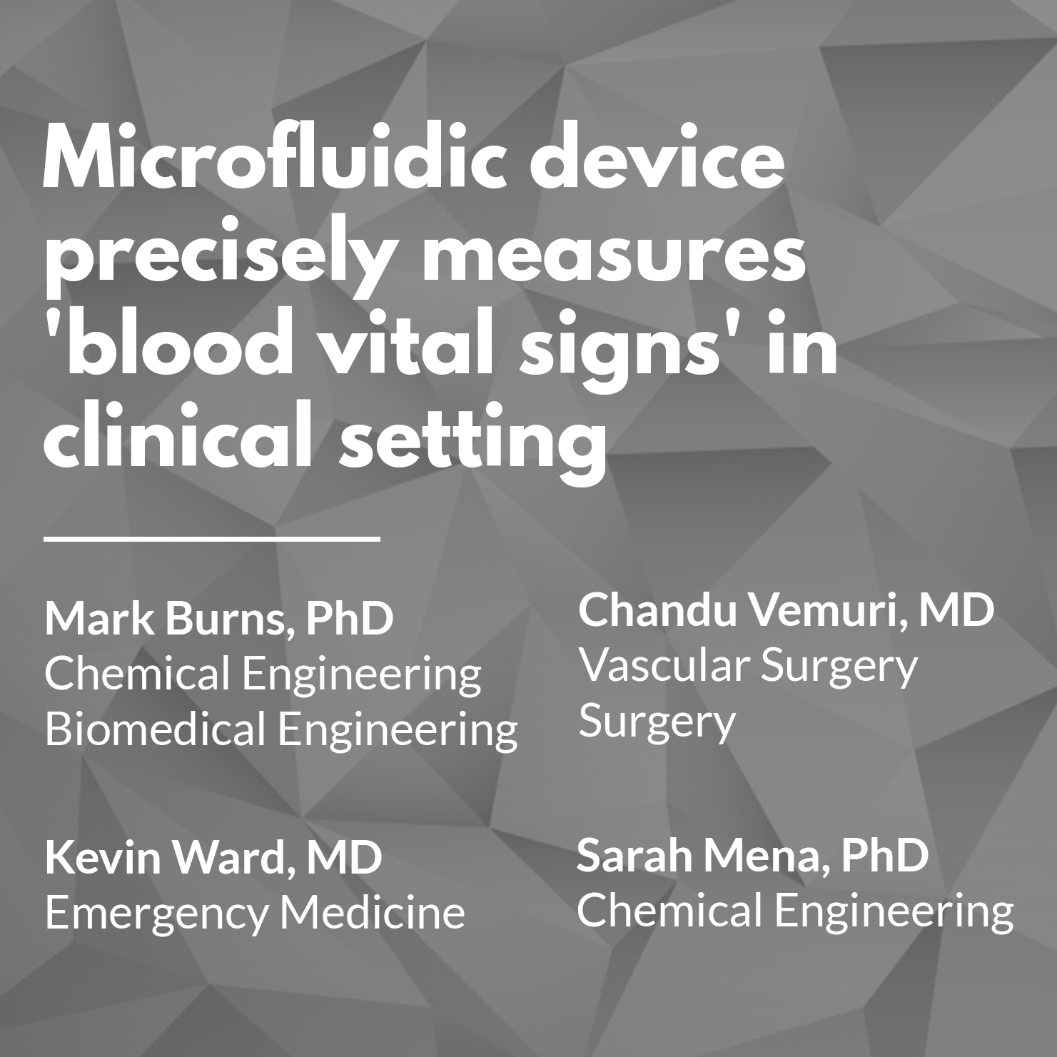 Life Support - Microfluidic device precisely measures 'blood vital signs' in clinical setting.png