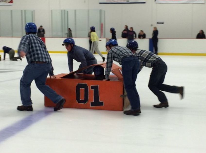Bobsled Competition at the Chiller