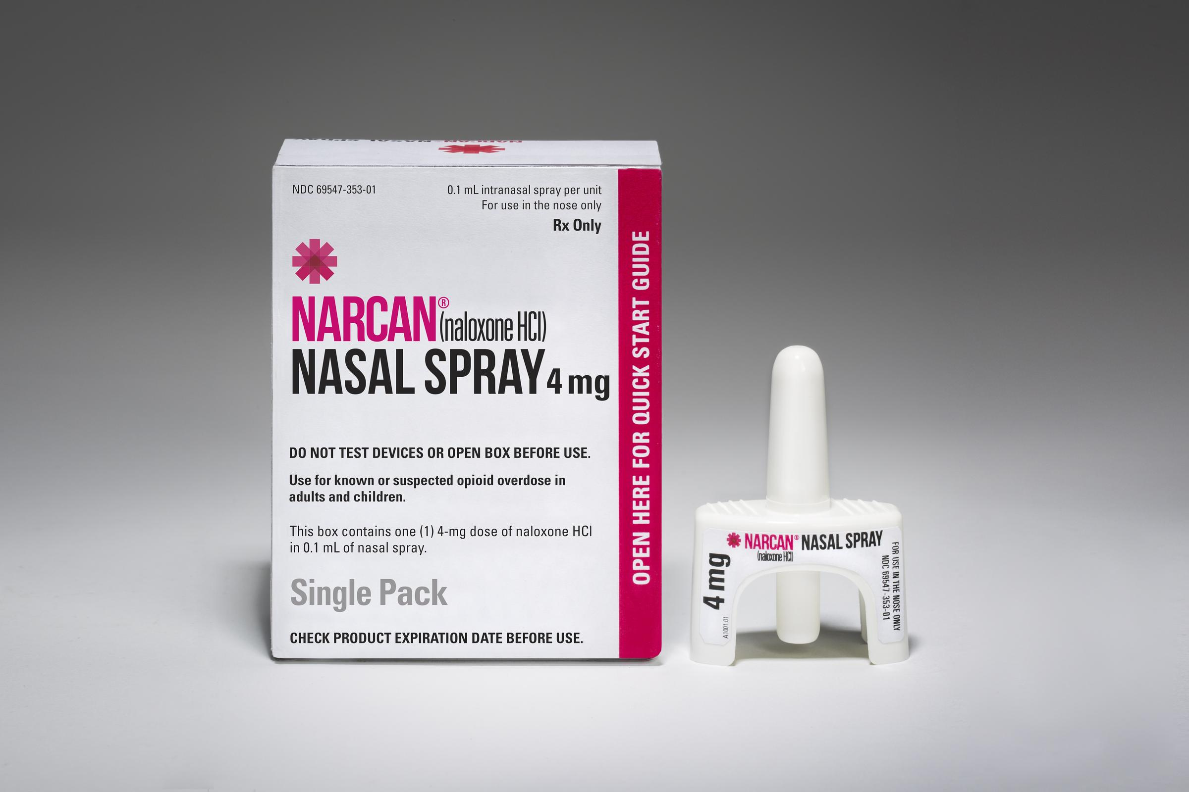 Naloxone Can Save - Using nasal sprays and injectible formulations, naloxone can completely reverse an overdose.