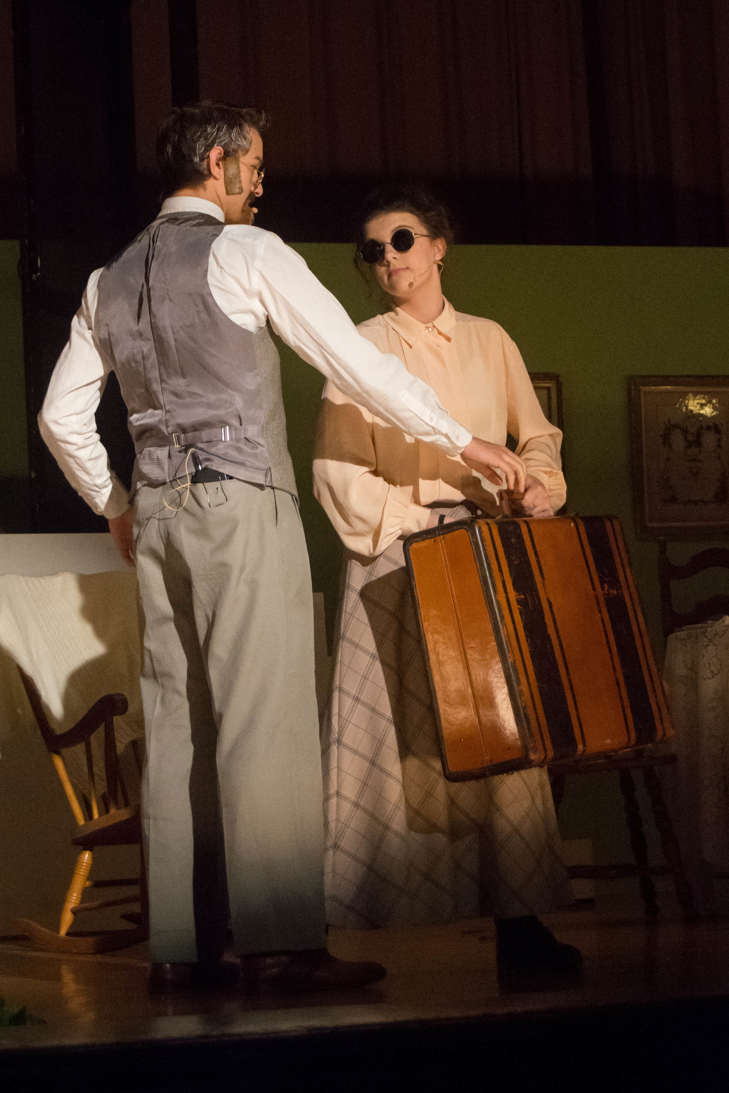 As Annie Sullivan in The Miracle Worker
