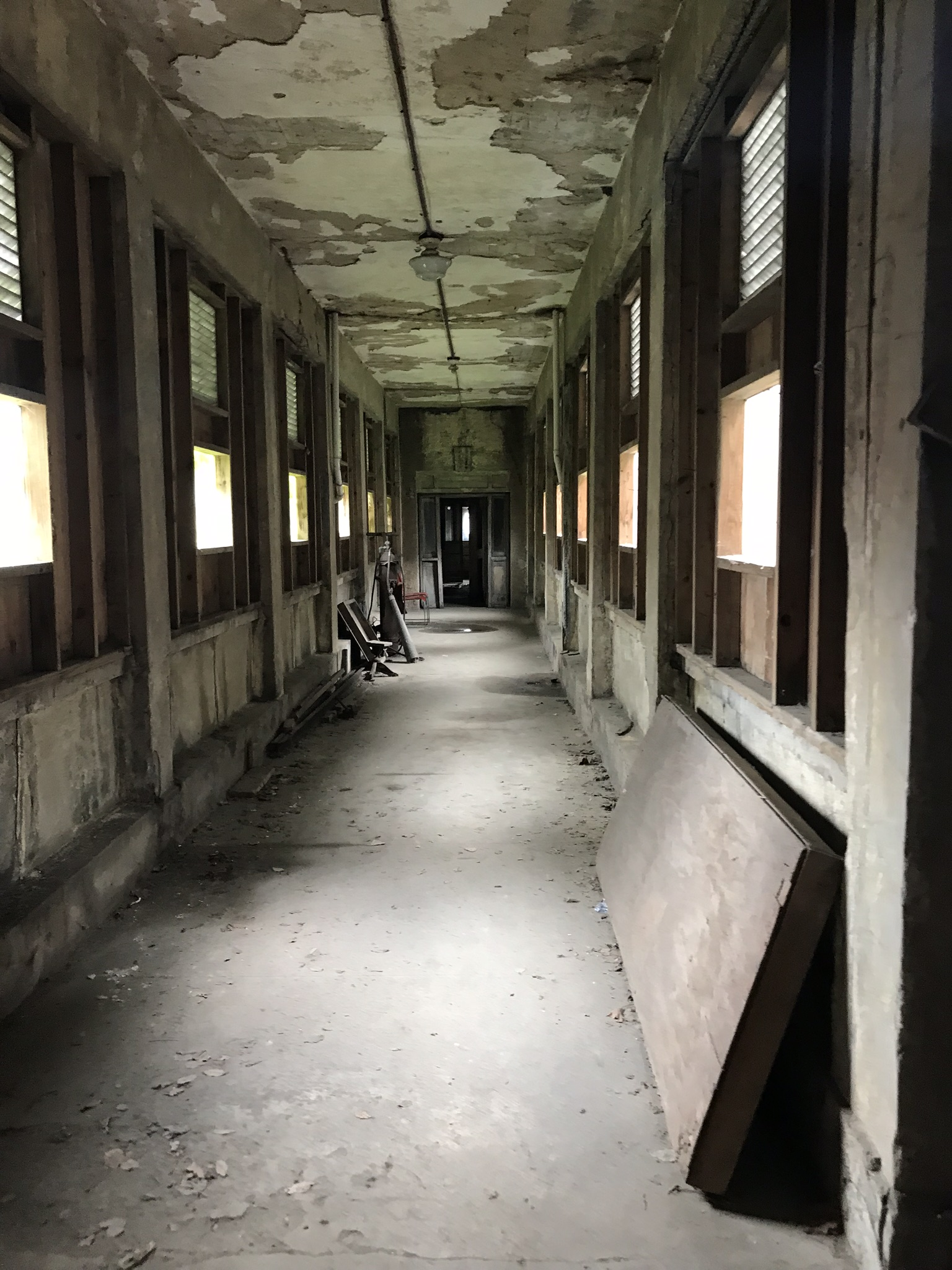 Hallway on second floor.
