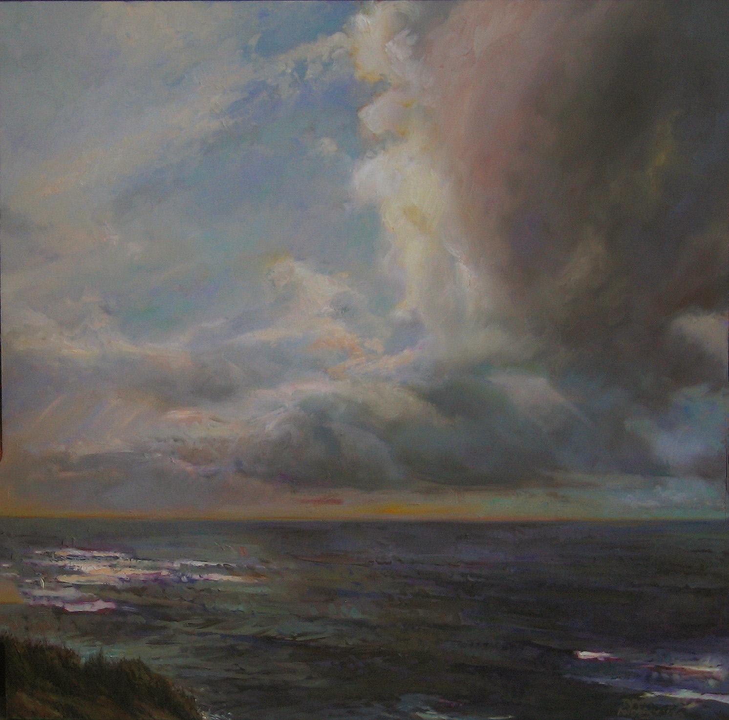 "TERRA AUSTRALUS  48"" x 48"" oil on canvas"