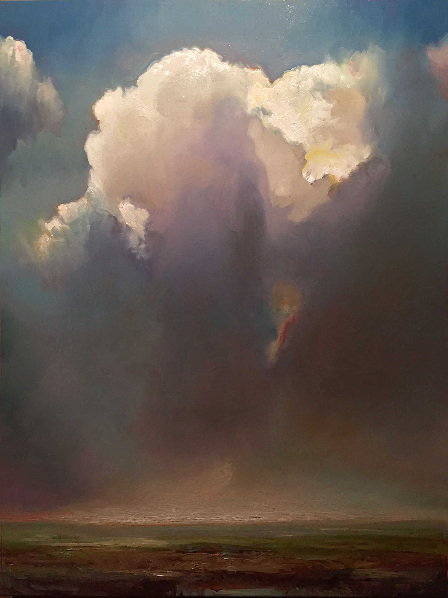 "CLOUD ATLAS   40"" x 30""  oil on canvas"