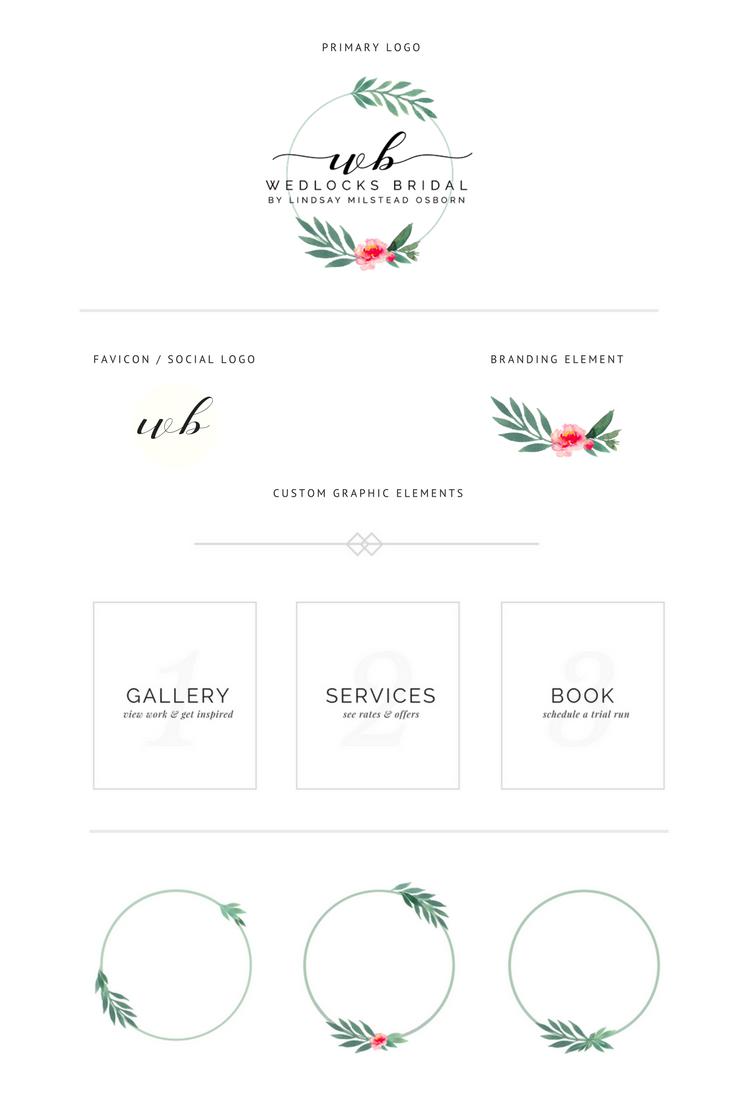 Wedlocks Bridal Custom Graphic Design & Logo.png