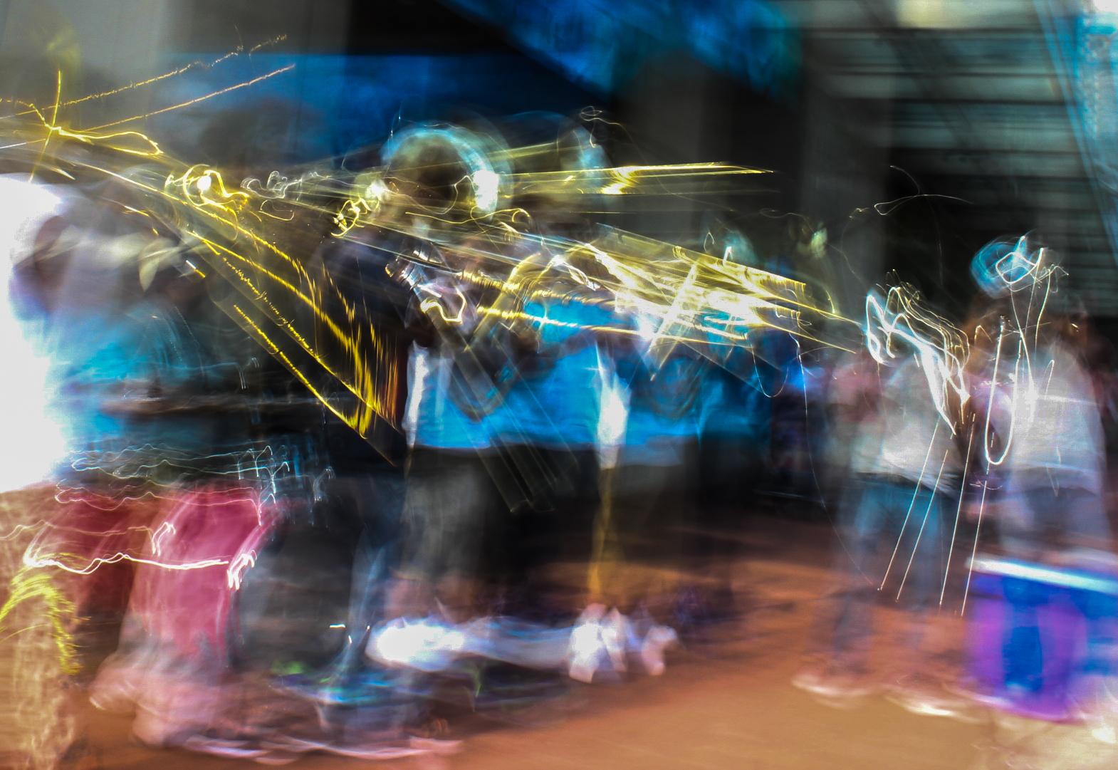 Long exposure, street musicians near Gallery Place.jpg