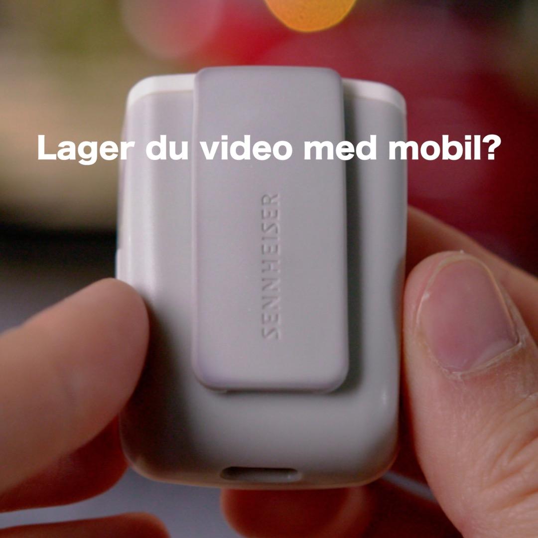 PÅ ØNSKELISTEN? Memory mic fra Sennheiser.