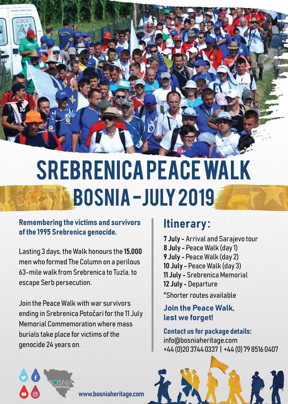 Peace Walk Bosnia