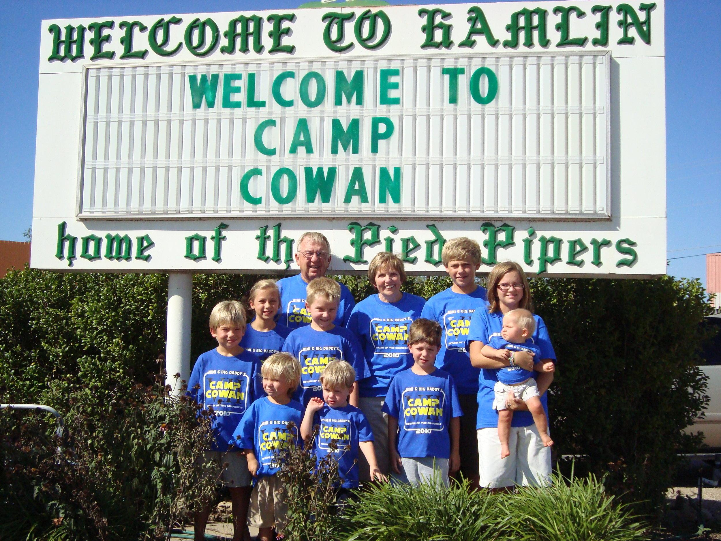 Camp Cowan 2010