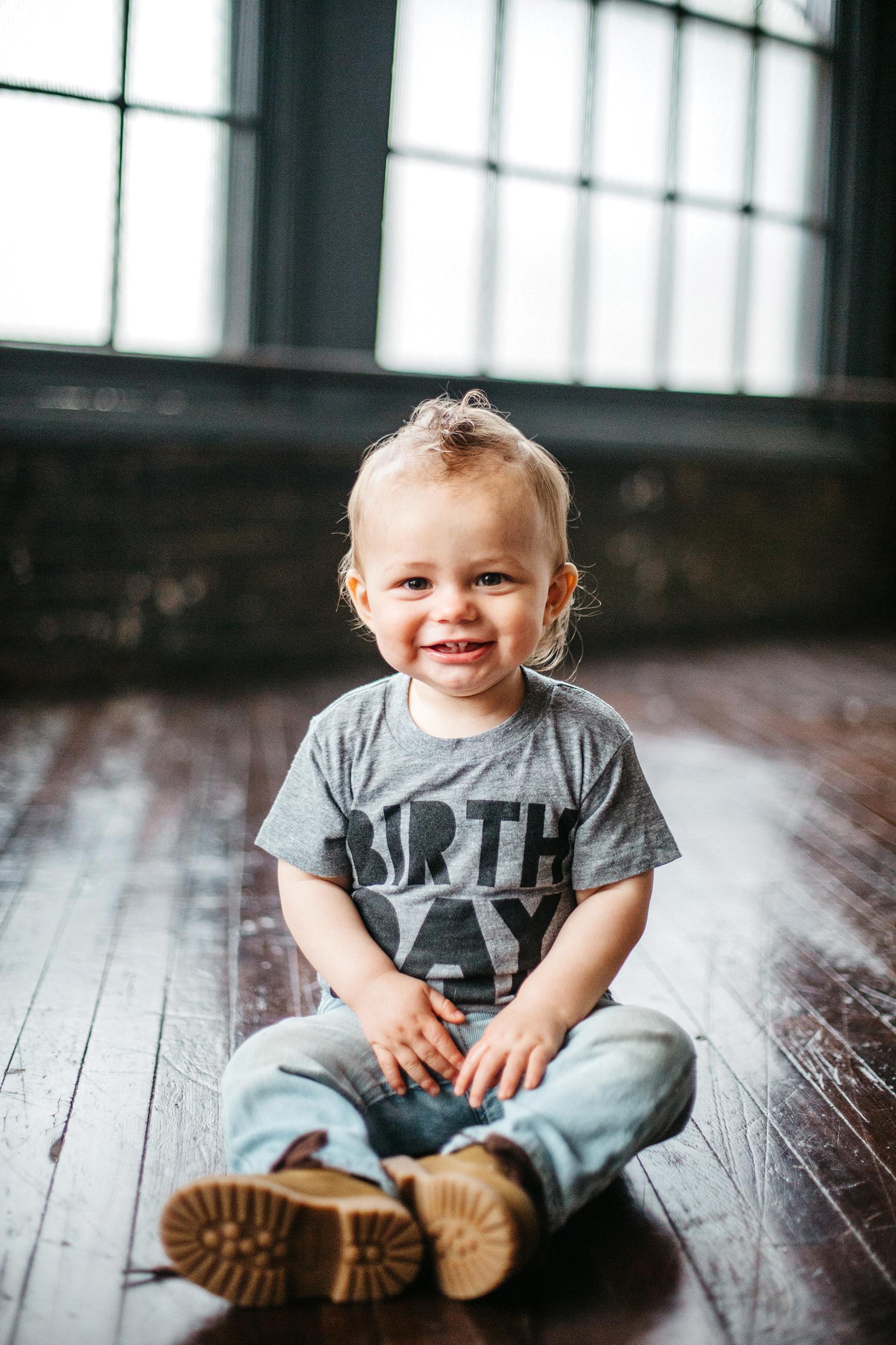 Leo | First Birthday