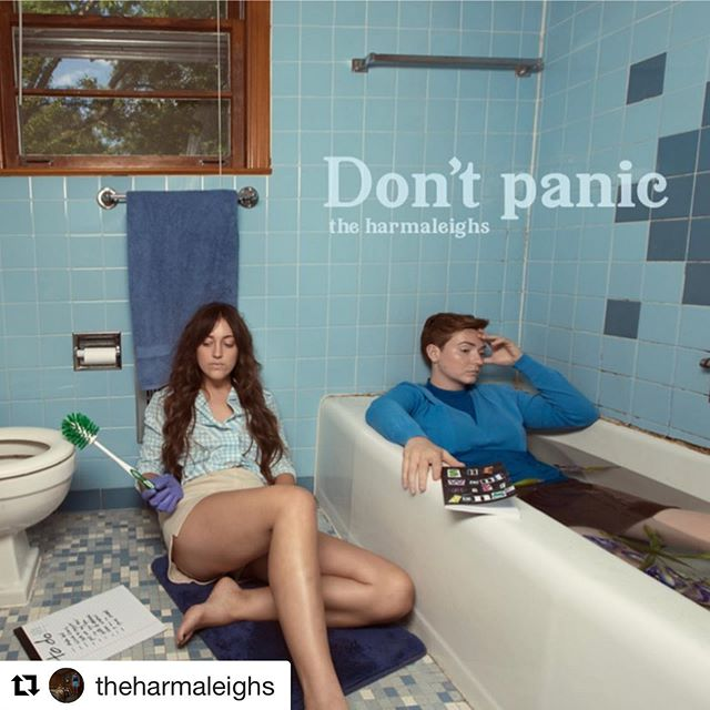 Real proud of how this one turned out. Listen on all platforms when you have a second.  #Repost @theharmaleighs (@get_repost) ・・・ SHES HERE!!!!! def one of our favorites off the record. pls listen & share. WHAT ON EARTH DO YOU ALL THINK??? written by yours truly, produced and mixed by @chimneyisme photo by @ruthchapa styling by @dedgrandpa hair and makeup by @drenushakolshi album art by @melissaszwan 🦋💙🦋