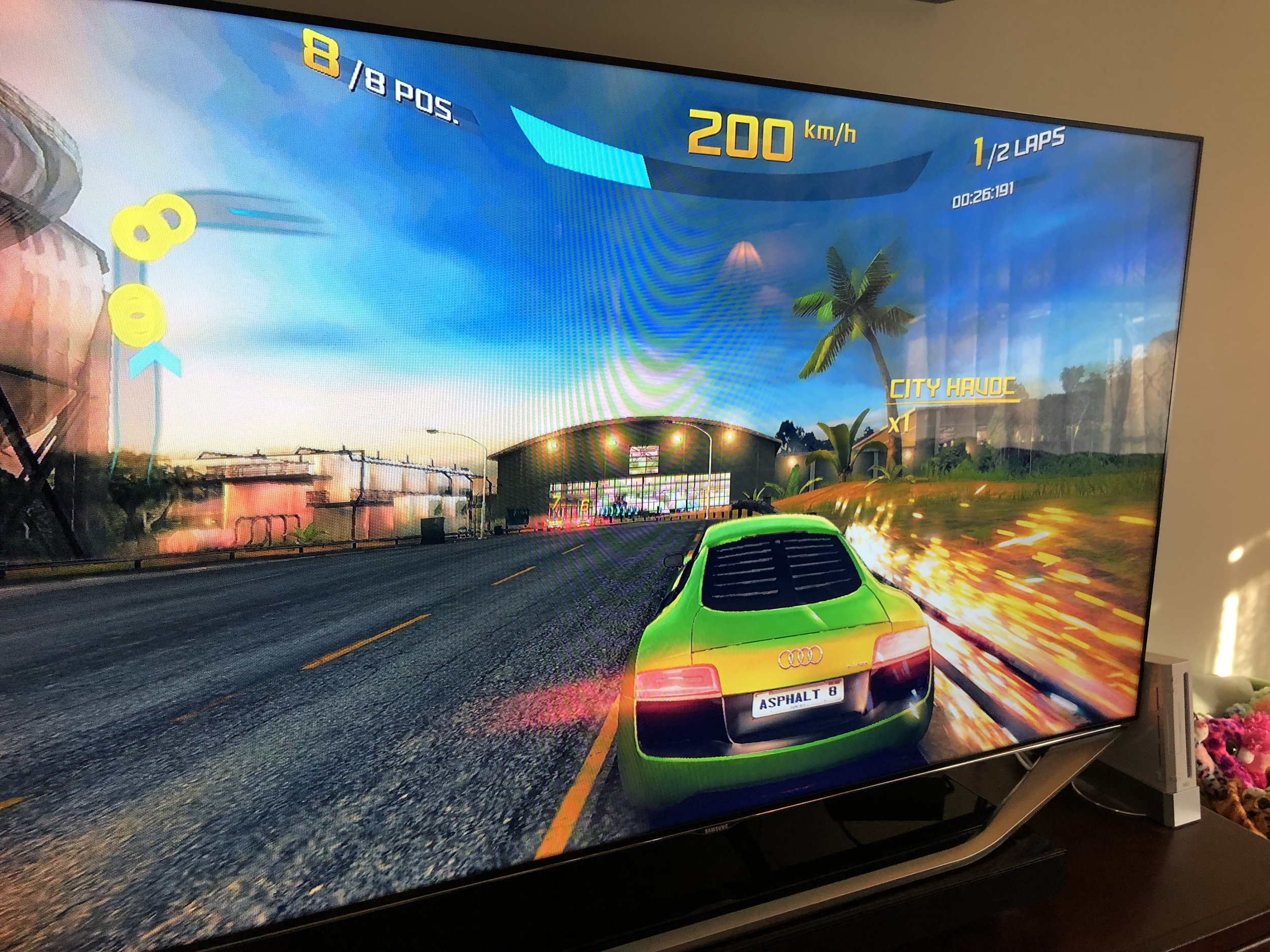 Playing games like Asphalt 8 with a controller on Apple TV 4K is a surprisingly rewarding console experience