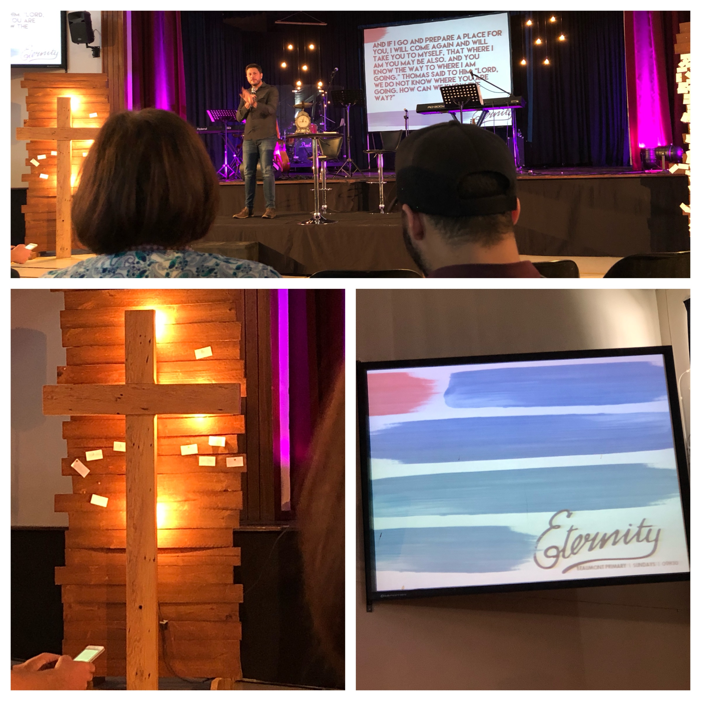 "What a wonderful morning at ENSW! ""We must not be consumed with the anticipation of Christ's arrival but the thought of it should stir us to zeal and joy."" -Pierre Smith"