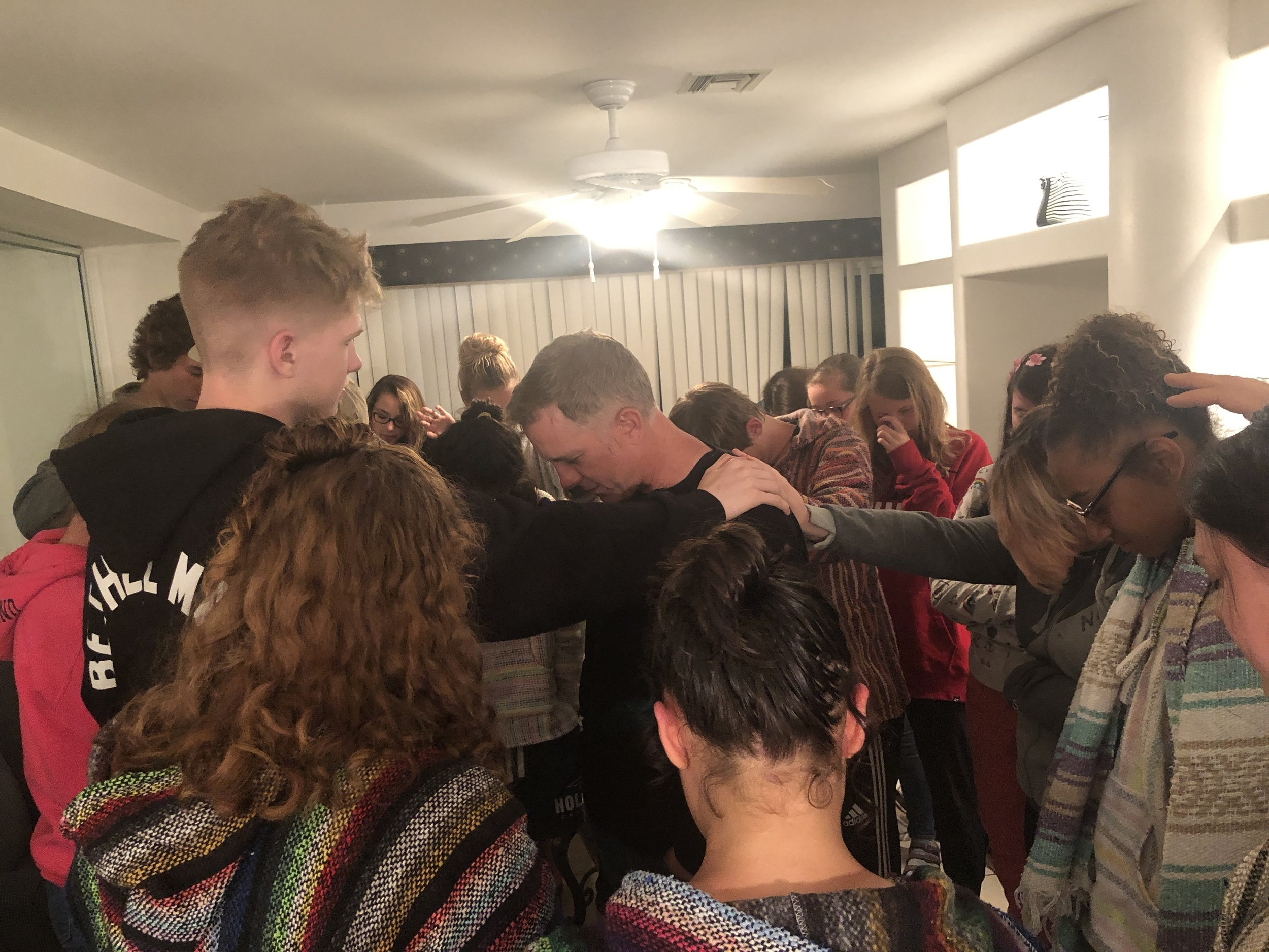 Praying over Pastor Brent as he will be leaving early in the morning to head home to be back for IFC on Sunday. He will be driving to cross the border at 8am EST. Please pray for him.