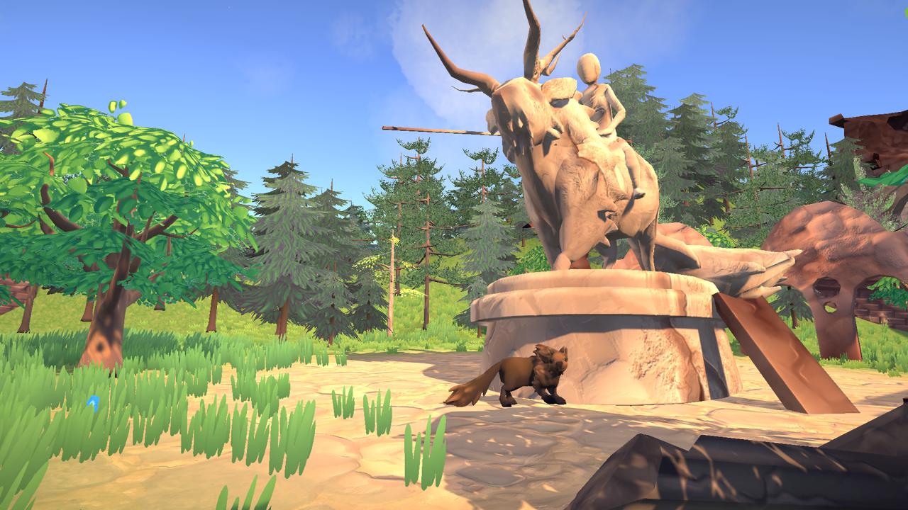 The Last Bison (Solo Project) -  3D Art, Level Design