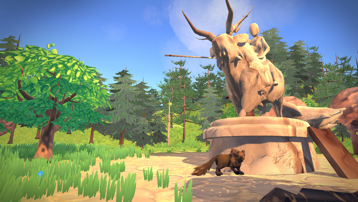 THE LAST BISON  :: Honours Year Solo Project :: 3D Adventure Game