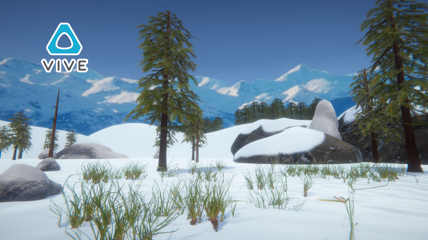 Snowboarding VR Project :: Snowboarding game in development for the HTC Vive - Responsible for all Visuals